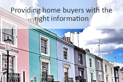 Providing home buyers with the right information