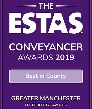 2019 Best in County ESTA Conveyancer Awards 2019 LPL